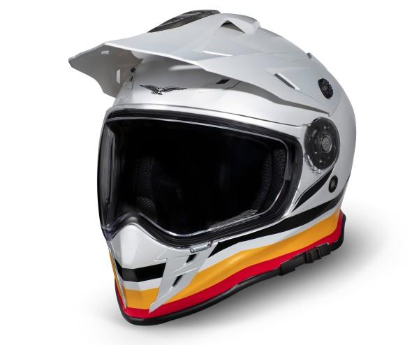 Casco Moto Guzzi Adventure Touring V85TT argento