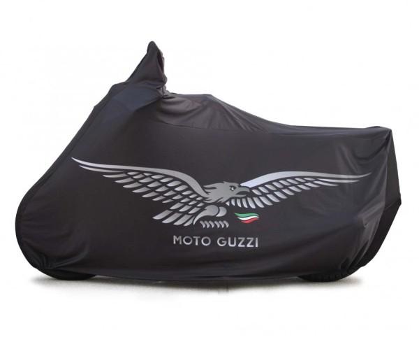 Garage pieghevole originale V7 Aquila, nero per Moto Guzzi V7 I + II, V7 III / V7 850