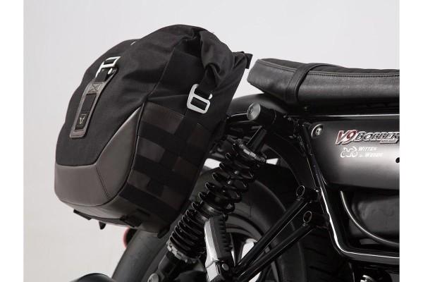 Set borse laterali Moto Guzzi V9 Roamer / Bobber (16-) SW Motech Legend Gear