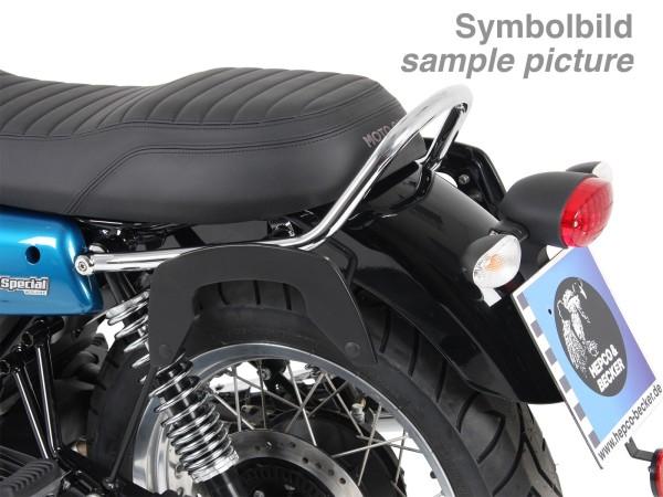 C-Bow portapacchi cromato per V 7 III stone / special / Anniversario / Racer (Bj.17-)