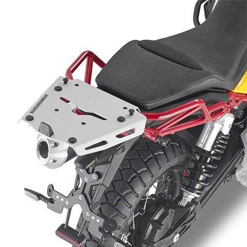 Portabauletto in alluminio per Moto Guzzi V85 TT (Bj.19-) originale Givi