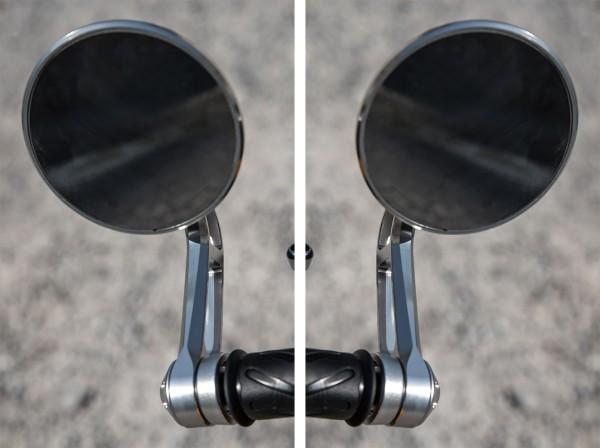 Specchietti manubrio, set, alluminio per Moto Guzzi V7 III originale