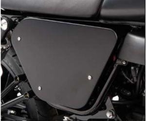 Cover originali, alluminio, nere per Moto Guzzi V7 I + II