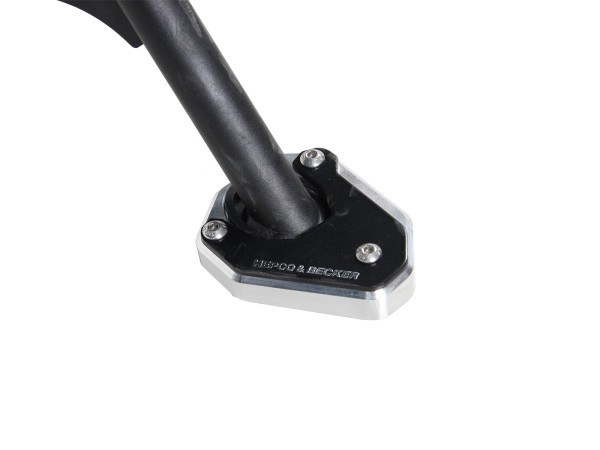 Piastra cavalletto laterale per V85 TT (Bj. 2019) originale Hepco & Becker