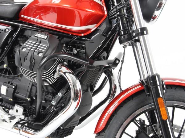 Barra protezione motore cromata per V 9 Roamer (Bj.16-) originale Hepco & Becker