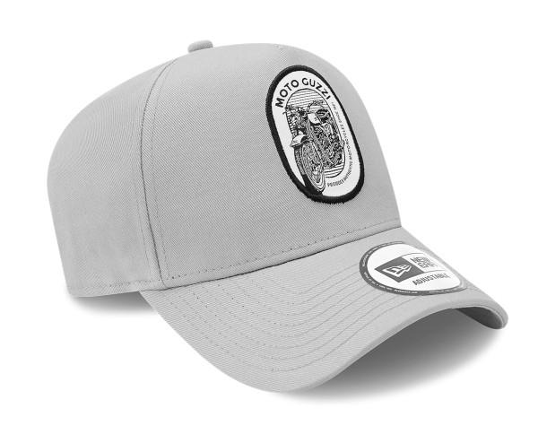 Cappellino Moto Guzzi NEW ERA 9FORTY® A-Frame Tracker, grigio