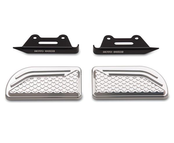 Pastiglie originali per pedane, in alluminio per Moto Guzzi Audace