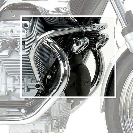 Barra protezione motore Moto Guzzi Nevada cromata