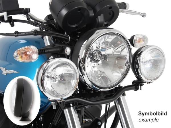 Twinlight set fari supplementari neri per V 7 III stone / special / Anniversario / Racer (Bj.17-)