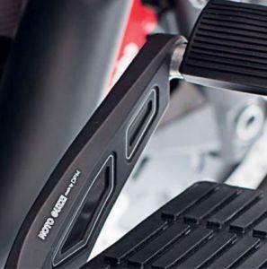 Cover, alluminio, nera, per leva freno a pedale per Moto Guzzi MGX 21 / Audace