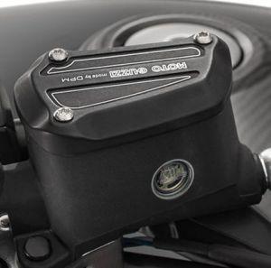 Cover, alluminio, nera per Moto Guzzi MGX 21