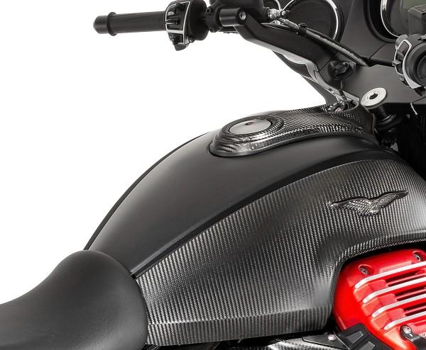 Cover serbatoio in carbonio per Moto Guzzi MGX 21