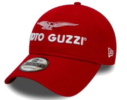 Moto Guzzi Base Cap Garage rosso