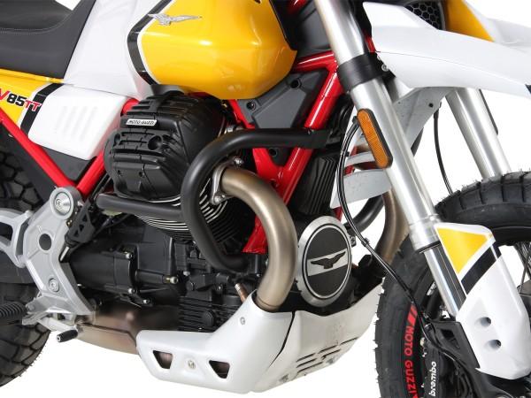 Barra protezione motore nera per V85 TT (Bj.19-) originale Hepco & Becker