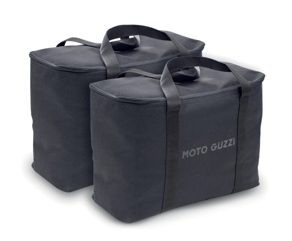 Borse interne originali per valigie laterali in alluminio Moto Guzzi V85 TT