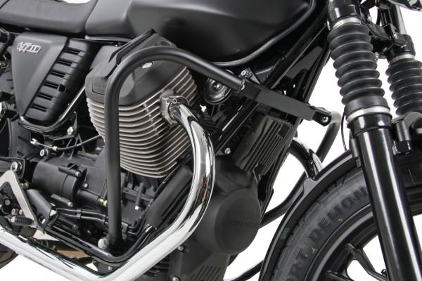 Barra protezione motore nera per V 7 II (Bj.15-) originale Hepco & Becker