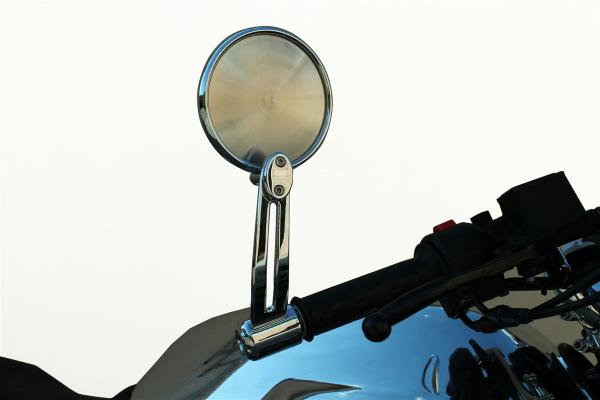 Specchio originale, alluminio, argento per Moto Guzzi V7 III
