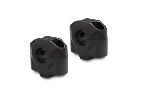 Riser manubrio 25 mm nero per Moto Guzzi V7 III (16-) SW Motech