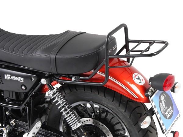 Portapacchi tubo bauletto portapacchi nero per modello V 9 Roamer (Bj.17-) con sella lunga