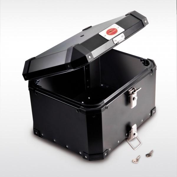 Bauletto Moto Guzzi Alu Motech Trax EVO per Stelivio nero