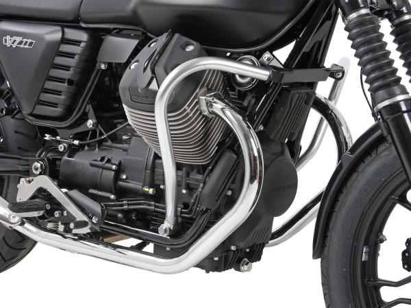 Barra protezione motore cromata per V 7 II Classic (Bj.15-) originale Hepco & Becker