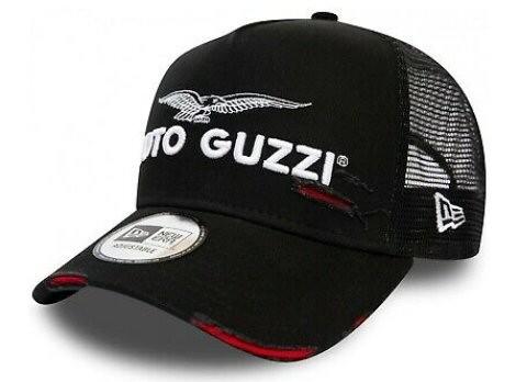Moto Guzzi Base Cap Trucker nero