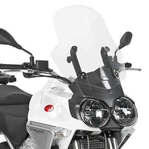 Cupolino trasparente per Moto Guzzi Stelvio 1200 (Bj.08-10) originale Givi