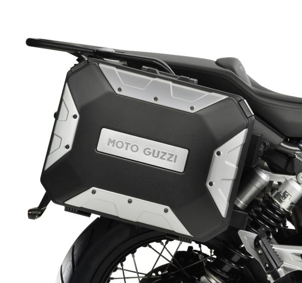 "Valigie laterali in alluminio (set) ""URBAN"" per Moto Guzzi V85 TT"