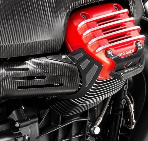 Protezione dal calore, in acciaio inox per Moto Guzzi MGX 21
