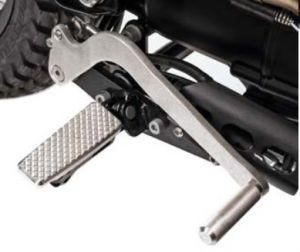 SET CAMBIO PROLUNGATO/B originale per Moto Guzzi V7 I+II