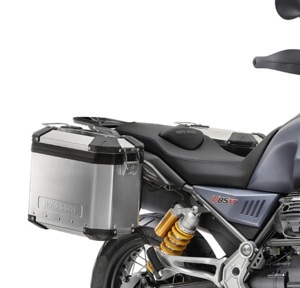 Valigetta originale in alluminio Moto Guzzi V85 TT