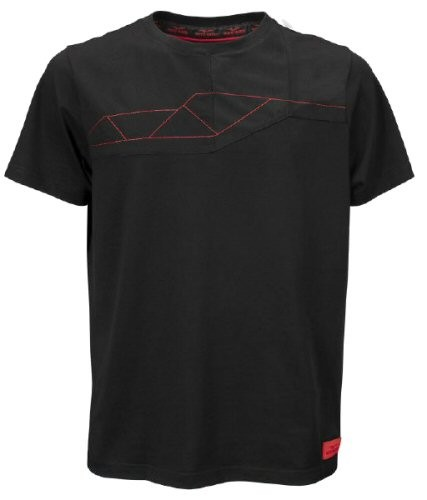 T-shirt uomo Moto Guzzi V85TT cotone nero