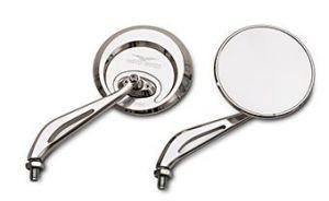 Specchio originale, alluminio, argento per Moto Guzzi Eldorado